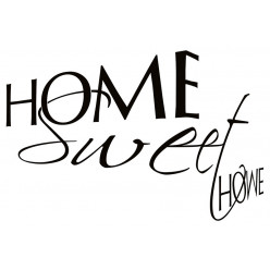 Poster - Affiche home sweet home