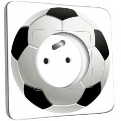 Prise décorée - Ballon de foot Black&White 2