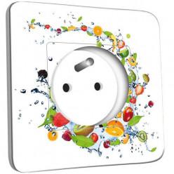 Prise décorée - Cuisine Life Style Friuts