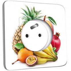 Prise décorée - Cuisine Life style Fruits2