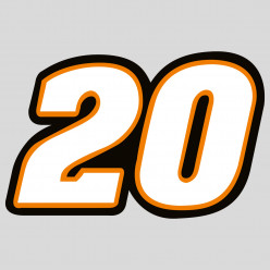 Stickers 20 Tony Stewart