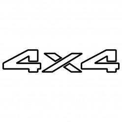 Stickers 4x4
