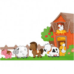 Stickers animaux de la ferme