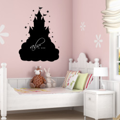 Stickers ardoise chateau
