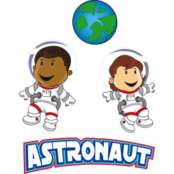 Stickers astronautes