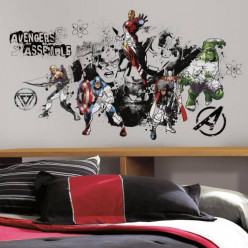 Stickers Avengers Assemble Marvel