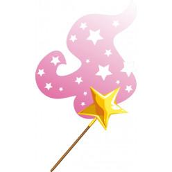 Stickers baguette étoile