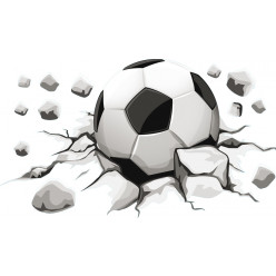 stickers ballon de foot