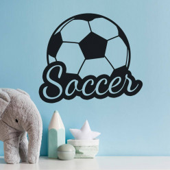 Stickers ballon de foot soccer
