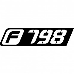 Stickers bmw f798