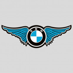 Stickers BMW WINGS