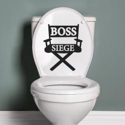 Stickers boss siège