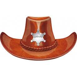 Stickers chapeau sheriff