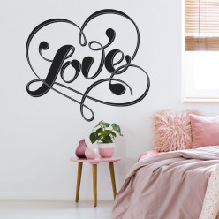 Stickers coeur love