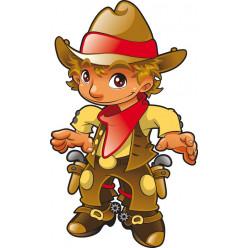 Stickers cowboy