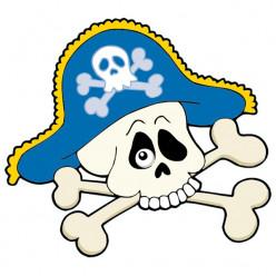 Stickers Crane Pirate