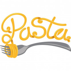Stickers cuisine pasta