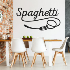 Stickers cuisine spaghetti