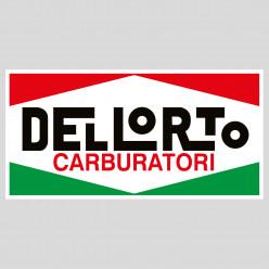 Stickers dellorto carburatori