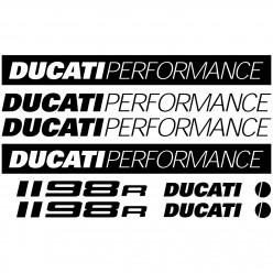 Stickers Ducati 1198r