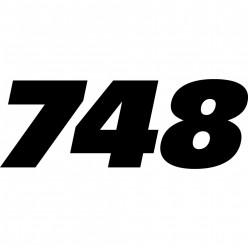 Stickers ducati 748