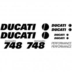 Stickers Ducati 748 desmo