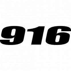 Stickers ducati 916
