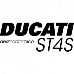 Stickers ducati desmodromico st4s