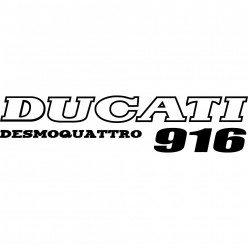 Stickers ducati desmoquattro 916