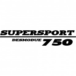 Stickers ducati supersport desmodue 750