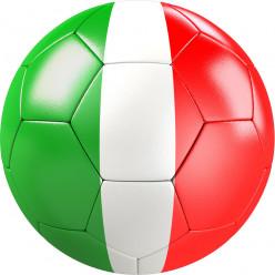 Stickers effet 3D- Ballon de foot 13