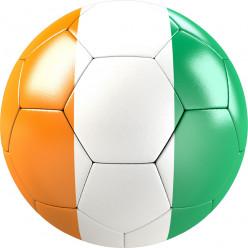 Stickers effet 3D- Ballon de foot 3