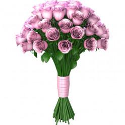 Stickers effet 3D - Bouquet des fleurs