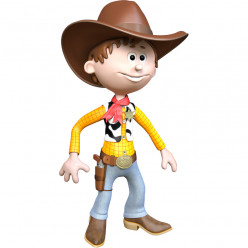 Stickers effet 3D - Cow-boy 2