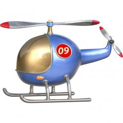 Stickers effet 3D- Hélicoptère