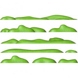 Stickers effet 3D- Kit Herbes 2