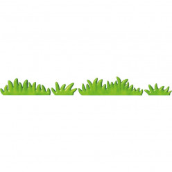 Stickers effet 3D- Kit Herbes