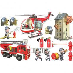 Stickers effet 3D- Kit Pompiers 2