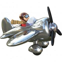 Stickers effet 3D- L'avion 3
