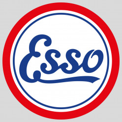 Stickers esso antique
