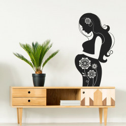 Stickers femme enceinte
