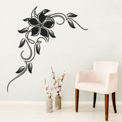 Stickers Fleur Baroque