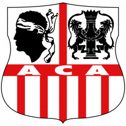 Stickers Foot AC-AJACCIO 2