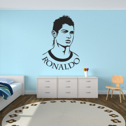 Stickers Foot cristiano ronaldo