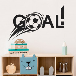 Stickers foot goal