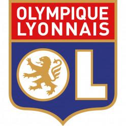 Stickers Foot OLYMPIQUE LYONNAIS