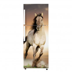 Stickers Frigo - Cheval