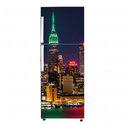 Stickers Frigo - Empire state building nuit