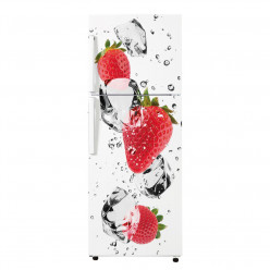 Stickers Frigo - fraises 3
