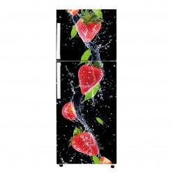 Stickers Frigo - fraises 4